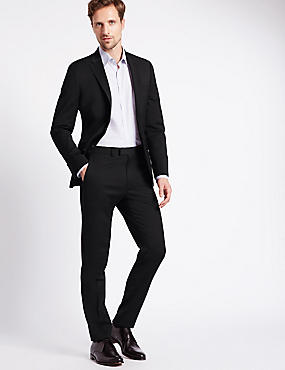 Charcoal Slim Fit 3 Piece Suit