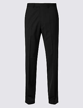 Charcoal Tailored Fit Trousers