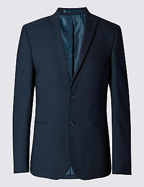 Navy Modern Slim Fit 3 Piece Suit