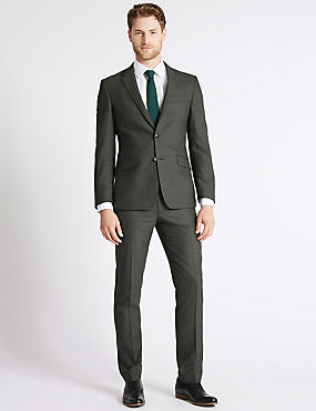 Big & Tall Grey Tailored Fit Jacket, GREY, catlanding