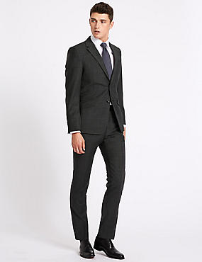 Grey Suits | Light, Dark, Charcoal & Silver Mens Suit | M&S