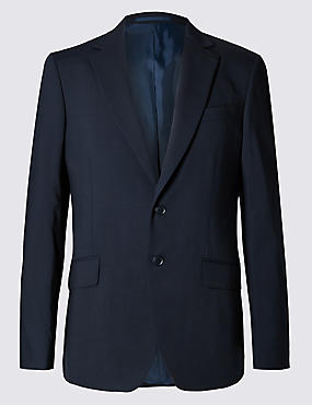 Big & Tall Navy Slim Fit Jacket