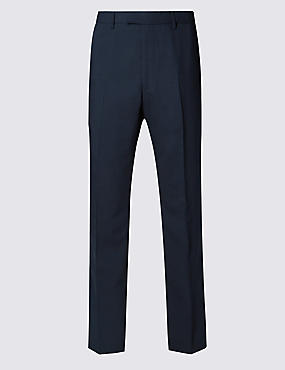 Big & Tall Navy Regular Fit Trousers