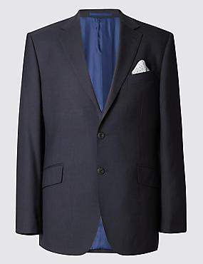 Big & Tall Regular Fit Suit Including Waistcoat