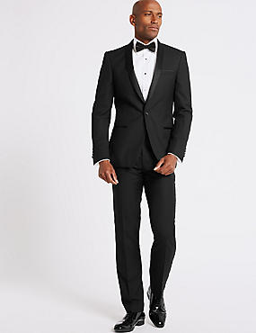 Black Slim Fit DinnerJacket