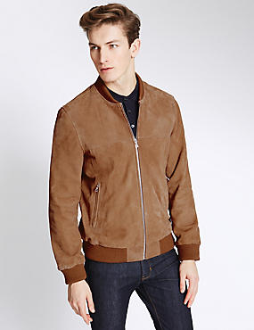 Mens Bomber Jackets | Lightweight Quilted Jackets | M&S