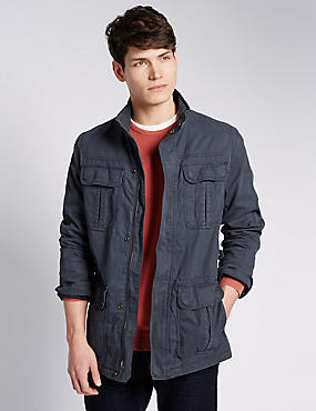 Pure Cotton 4 Pocket Jacket