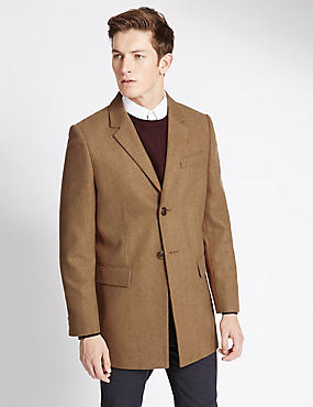 Single Breasted Overcoat