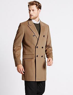 Mens Brown Jackets & Coats | Mens Camel Casual Jacket | M&S