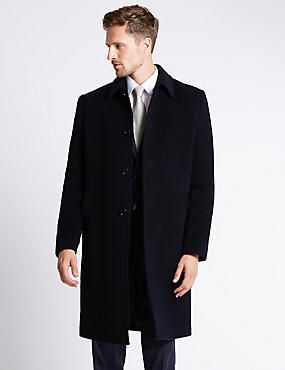 Wool Rich Thermal Overcoat