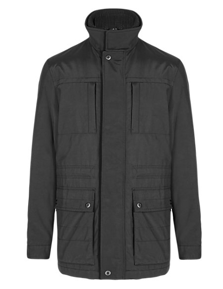 Lightly Padded Water Resistant City Parka with Stormwear™