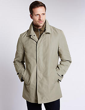 Classic Stormwear™ Mac with a Removable Double Collar
