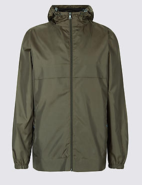Packaway Raincoat Jacket with Stormwear™