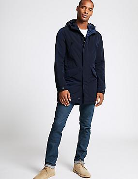Modern Parka with Stormwear™, NAVY, catlanding