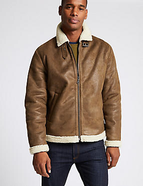 Flight Jacket with Stormwear™, TAN, catlanding
