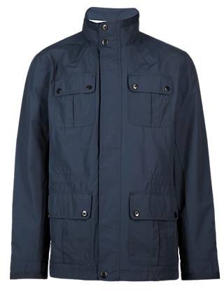 Funnel Neck 4 Pockets Jacket with Stormwear™ Clothing