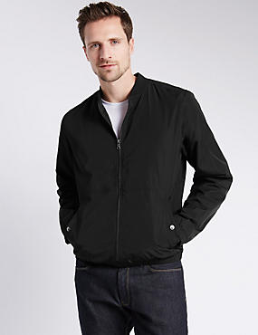 Casual Bomber Jacket with Stormwear™