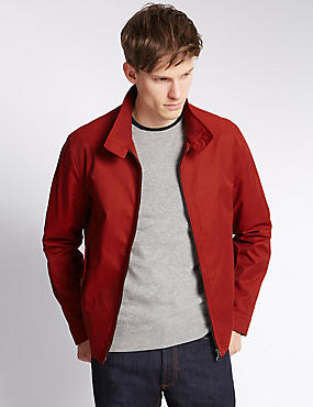 Cotton Rich Harrington with Stormwear™