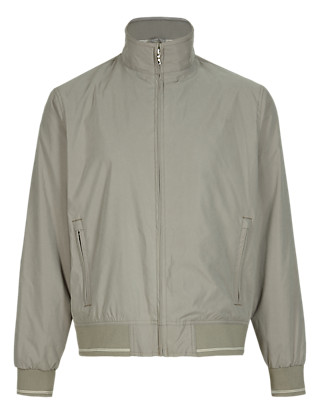 Water Resistant Bomber Jacket Clothing
