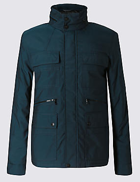 Tailored Fit 4 Pocket Jacket with Stormwear™