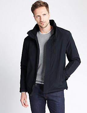 Fleece Lined Tailored Fit Jacket with Stormwear™