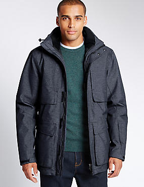 Parka with Inner Removable Jacket with Thinsulate™