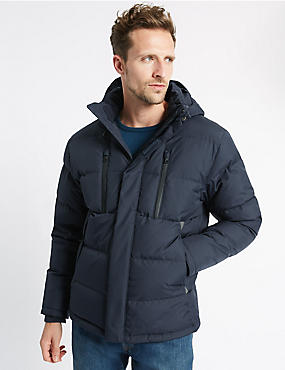 Feather Down Quilted Parka with Stormwear™