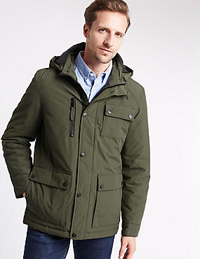 Cotton Blend Urban Parka with Stormwear™