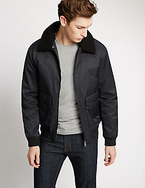 Tailored Fit Bomber Jacket with Stormwear™