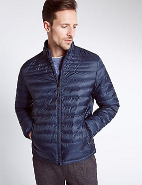 Printed Quilted Jacket with Stormwear™