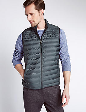 Printed Gilet with Stormwear™