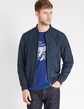 Baseball Bomber Jacket with Stormwear™