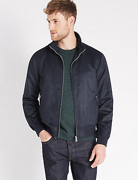 Mock Bomber Jacket