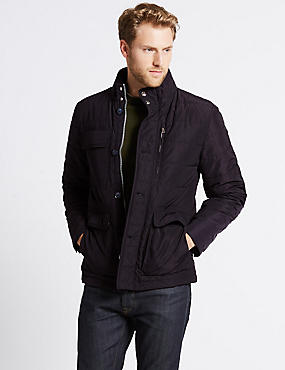 Quilted Padded Jacket with Stormwear™