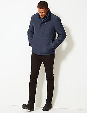 Padded Jacket with Stormwear™, DARK INDIGO, catlanding