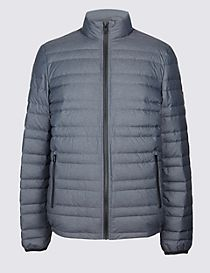 Down & Feather Jacket with Stormwear™