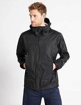 Waterproof Jacket with Stormwear™, BLACK, catlanding