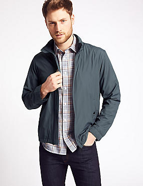 Zipped Through Bomber Jacket with Stormwear™