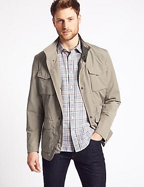 Modern City Jacket with Stormwear™, DARK STONE, catlanding
