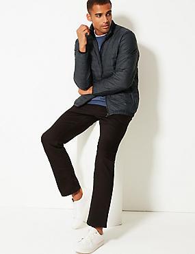 Down & Feather Jacket with Stormwear™, GREY MIX, catlanding