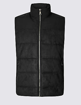 Quilted Gilet with Stormwear™ , NAVY, catlanding