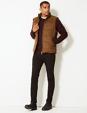 Quilted Gilet with Stormwear™ , TOBACCO, catlanding
