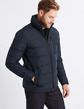 Padded Jacket with Stormwear™ , NAVY, catlanding