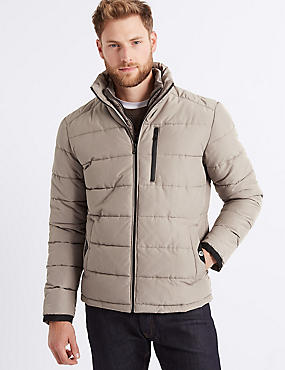 Padded Jacket with Stormwear™ , NEUTRAL, catlanding