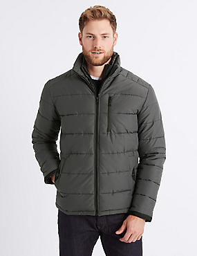 Padded Jacket with Stormwear™ , GREY, catlanding