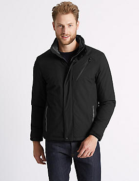 Active Fleece Jacket, BLACK, catlanding