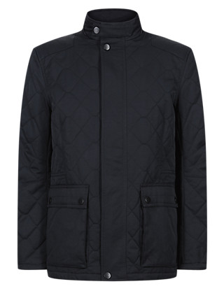 Water Resistant Quilted Blazer with Stormwear™ Clothing