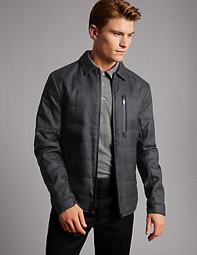 Shirt Harrington Jacket with Stormwear™