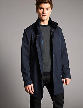 Funnel Neck Mac with Stormwear™