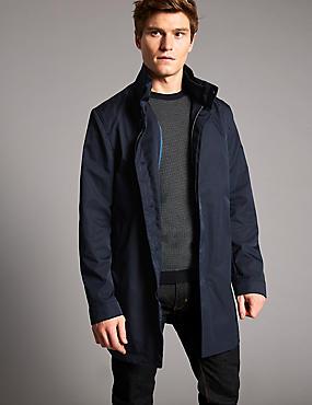 Mac with Stormwear™, NAVY, catlanding
